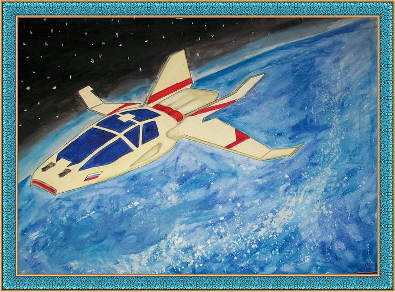 рисунки космос глазами ребенка
